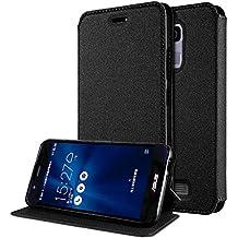 """Funda Asus Zenfone 3 Max 5.2 Flip Cover , ivencase Ultra-thin Prima Suave TPU Protector Stand Flip Silicona Tapa para Asus Zenfone 3 Max ZC520TL 5.2"""""""