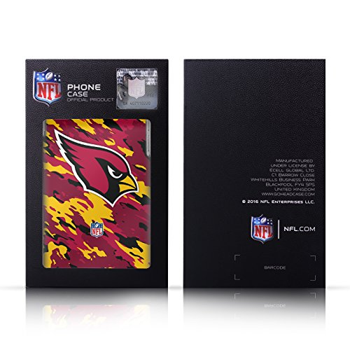 Ufficiale NFL LED 2017/18 Philadelphia Eagles Nero Cover Contorno con Bumper in Alluminio per Apple iPhone 6 Plus / 6s Plus Pattern