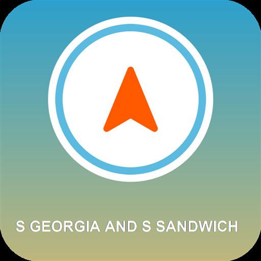 S Georgia und S Sandwich GPS Gs Navigation