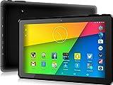 Tablette tactile 10.1' pouces HD Android 5.1 Quad Core 1 Go de RAM, Disque dur 16 Go (jusqu'à 32 Go) WIFI Bluetooth GPS HDMI OTG 6000mAh (batterie 6 heures) Noir *2017 Nouveau Modèle* (HD | WIFI)