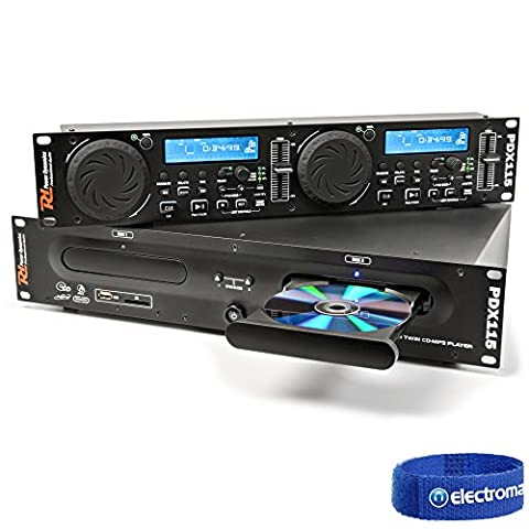 PD PDX115 PROFESSIONAL DJ Dual USB MP3 SD Scratch FX