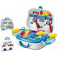 OBLETTER Doctor Kit Toy for Kids, Doctor Roleplay Medical Backpack Pretend Play Set,Simulation Props, Gift for Boys…