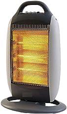 Varshine® POWER SUNPOINT Room Halogen Heater with 3 Heating Element & Settings | 220-230v 50/60hz 1200w ||K-001