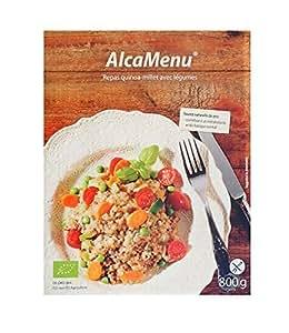 Alcamenu Repas quinoa-millet avec legumes Bio 800 g