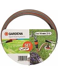 Gardena 271320 Tuyau d'arrosage de raccordement grand débit, Noir