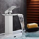 NAKEY Waschtischarmatur Wasserhahn Waschtisch armatur bad Einhebelmischer