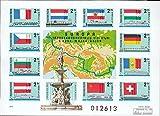 Ungarn Block128B (kompl.Ausg.), ungezähnt 1977 Donau-Main-Rhein-Schiffahrt (Briefmarken für Sammler)