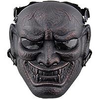 Fansport Máscara de Juego Al Aire Libre Máscara de Terror Disfraz Mascarilla Completa para Halloween Cosplay