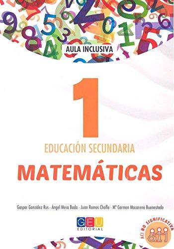 Matemáticas - Libro de Texto - 1º de la ESO - ACI No Significativa
