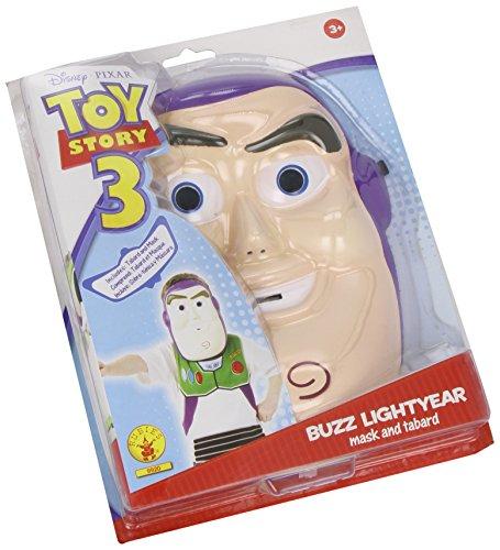 Disney-i-9920-Set Kostüm Buzz: Maske Eva + Plastron