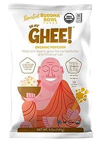 Oh My Ghee 5Oz Lesserevil Buddha Bowl Organic Popcorn Oh My Ghee 5.0 Ounce
