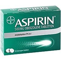 Aspirin 500 mg Tabletten, 20 St. preisvergleich bei billige-tabletten.eu