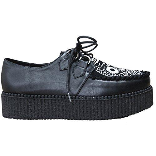 Banned, Sneaker donna nero nero Nero