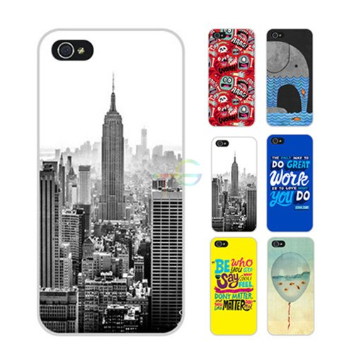 D9Q Kunst Muster Hard Case Back Cover Kunststoff Protector Haut Schild hülle für iPhone 5C (CUA-A) !Farbe 34
