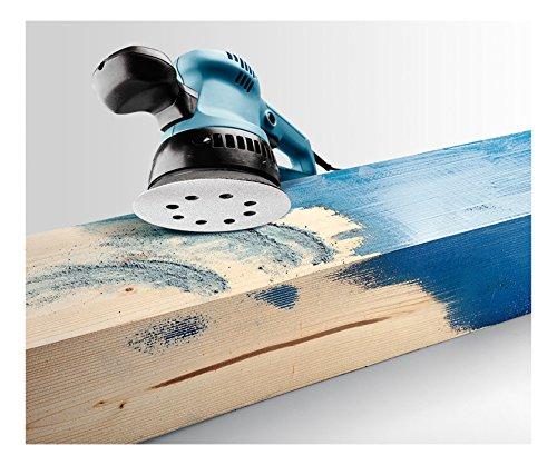 KWB Quick-Stick Schleifscheiben, Holz und Lack, selbsthaftend, Durchmesser 125 mm, 4959-04