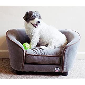 """""""Millies"""" Ultimate luxury Grey Faux Micro Suede Dog Bed , Cat , Pet Sofa, luxury comfort for your pet """"Millies"""" Ultimate luxury Grey Faux Micro Suede Dog Bed , Cat , Pet Sofa, luxury comfort for your pet 51xVMsInX6L"""