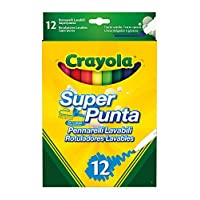 Crayola Supertips Washable