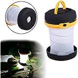 Skyfish Camping Portable LED Light Foldable Collapsible Lantern Flashlight Outdoor Lamp Hiking Lantern ( Multi Color )