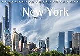 New York - Bilder einer Metropole (Tischkalender 2019 DIN A5 quer): Die große, atemberaubende Metropole stellt sich hier in spannenden Bildern vor. (Geburtstagskalender, 14 Seiten ) (CALVENDO Orte)