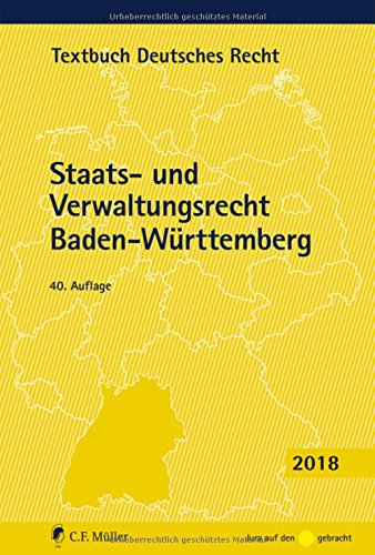 Staats- und Verwaltungsrecht Baden-Württemberg (Textbuch Deutsches Recht)