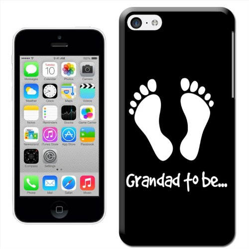 Fancy A Snuggle 'Grandma to Be' Hard Case Clip On Back Cover für Apple iPhone 5C Granddad to Be