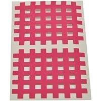 Kinesiologie Gittertape 5,2 cm x 4,4 cm 20 Bögen in Pink, Cross Tape, Cross Patches preisvergleich bei billige-tabletten.eu
