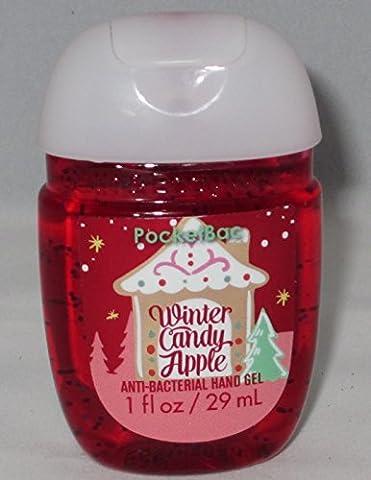 Bath & Body Works PocketBac - Winter Candy Apple Collection Noël 2016 - Gel anti-bactérien