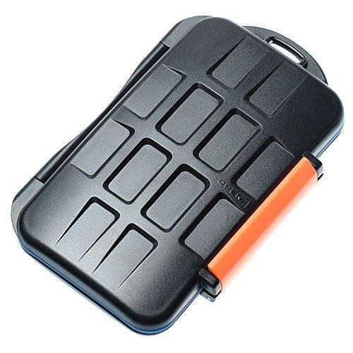 Gehäuse mc-4robust und wasserdicht für Speicherkarte (4x CF/8x MicroSD/8x XD) JJC mc-4