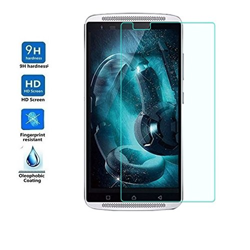 PES Anti Explosion Premium Tempered Glass , 9H Hardness, 2.5D Curved Edge, Ultra Clear, Anti-Scratch, Bubble Free, Anti-Fingerprints & Oil Stains Coating for Lenovo Vibe X3