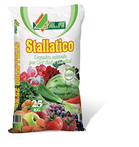 concime pellet bio stallatico organico ammendante naturale 25 kg