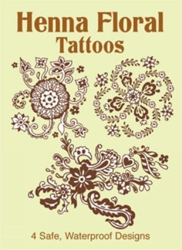 Henna Floral Tattoos -