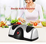 Saiyam Electric Knife Sharpener 2 Stage Sharpening System Kitchen Knife Scissors Screwdrivers Sharpener