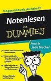 Notenlesen für Dummies Das Pocketbuch - Michael Pilhofer, Holly Day