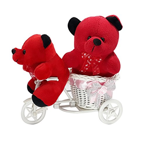 VESPL Beautiful Teddy Bear Combo On Tricycle - Set005  available at amazon for Rs.649