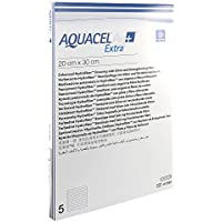 ConvaTec (Germany) GmbH AQUACEL Ag+ Extra 20x30 cm Kompressen 5 St preisvergleich bei billige-tabletten.eu