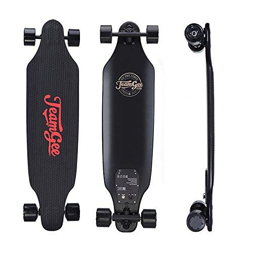Teamgee Skateboard Électrique H6-L, Tout Terrain 4 Rous, 800W Dual-Moteur, Plage De 10 Milles,...