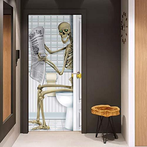 lbstklebend kreative Wandaufkleber Halloween Tricks Aufkleber Glasfenster Aufkleber Holztüren Renovierung ()