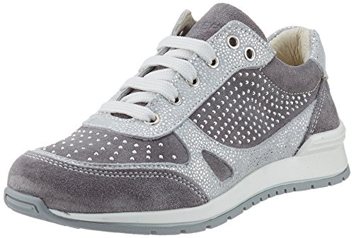 Lepi  4341lec, Sneakers Basses fille Grau (4341 C.04 Grigio/argento)