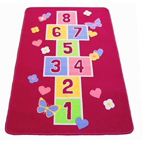 grand-tapis-rectangulaire-antiderapant-pour-chambre-denfant-motif-marelle-et-papillons-rose