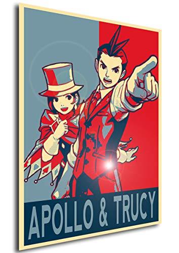 Instabuy Poster - Propaganda - Ace Attorney - Apollo Justice & Trucy Wright A4 30x21