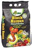 BLACK HUMUS REGENWURM HUMUS-PAKET von 5 LT