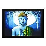 Delight Meditating Buddha Digital Printe...