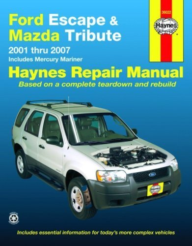 ford-escape-and-mazda-tribute-2001-2007-automotive-repair-manual-1st-by-haynes-2008-paperback