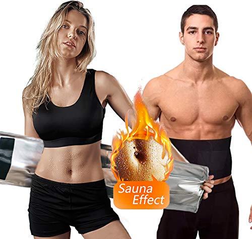 ZunBo Faja Reductora Adelgazante, Cinturón de Cintura de Neopreno Ajustable Transpirable Adelgazar para pérdida de Peso, Sauna, Corrección de Postura, para Mujeres y Hombres