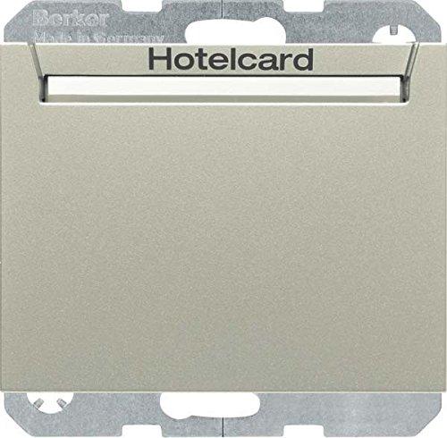 Hager 16417114 interruptor de luz Acero inoxidable Metal - Interruptores de luz...