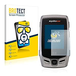 Xplova G5 Topo Protection Verre - BROTECT AirGlass Film Protecteur écran Vitre