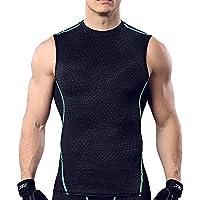 ELEAR® Uomo Collant rapida asciugatura Camicia Body Shaper dimagrante uomo pancia della maglia della vita perdere peso Camicia