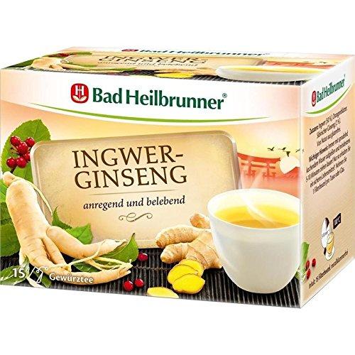 Bad HEILBRUNNER Tee Ingwer Ginseng 1er Pack