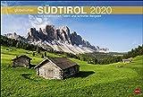 Südtirol Globetrotter: Von romantischen Tälern und schroffer Bergwelt. Wandkalender 2020. Monatskalendarium. Spiralbindung. Format 58 x 39 cm -