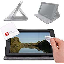 OFFRE SPECIALE: Etui + stand de maintien pour tablette CDiscount CDisplay écran 7 pouces par Haier (sortie 2014), Android 4.4 KitKat + chiffon BONUS , par DURAGADGET